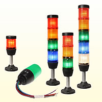 LED signal towers