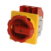 Emergency stop mains switches KB-NLO / KB-NLT IP54