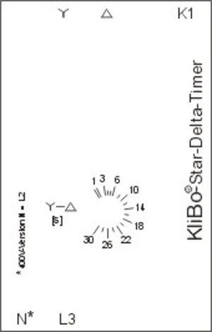 KLIBO Star-delta-timer