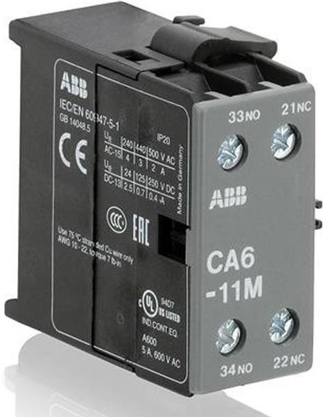B7 contactors from ABB on