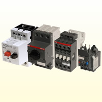 Contactors, Overload relays and Motor protection switches
