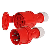 CEE-plugs, sockets and couplings